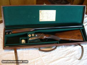 James Woodward & Sons, 12 Guagem Double Barrel Shotgun: