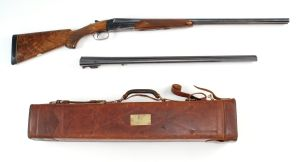 16g WINCHESTER MODEL 21 SKEET SIDE-BY-SIDE SHOTGUN