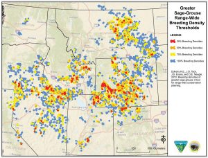 Greater Sage Grouse Breeding Areas
