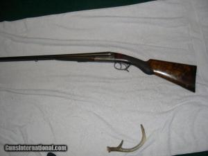 MANUFRANCE IDEAL GRADE 2 RARE 20 GAUGE Double Barrel shotgun