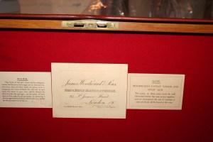 Genuine James Woodward & Sons oak & leather Over Under Shotgun Case