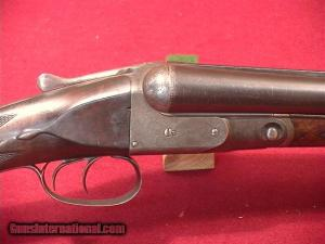 "E.C. Griffith's PARKER DH 12GA 30"" Double Barrel Shotgun"