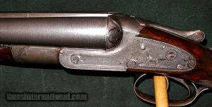 LEFEVER D GRADE 12GA Double Barrel ANTIQUE SHOTGUN: