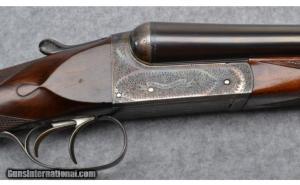 Charles Ingram BLE 12 Gauge Double Barrel Boxlock Shotgun: