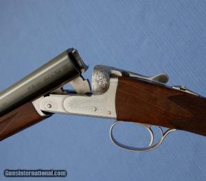 "BERETTA Model 470 Silverhawk - 12ga - 28"" M / F - English Stock:"