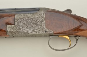 Belgian-made Browning Diana grade O/U shotgun, 12 gauge