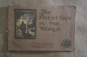 1908 A.H. Fox Philadelphia, PA, double barrel shotgun Campfire catalog