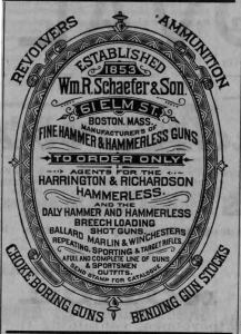 Wm R Shaefer & Sons, Boston, Gunmakers, From Buffalo Bill Center of the West