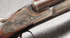 "L.C. Smith 3E 12 gauge Double Barrel Shotgun, 28"" Damascus Bbls"