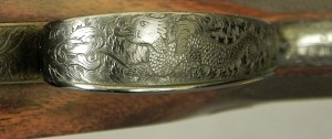"""HOLLAND & HOLLAND 240 MAG FLANGED ROYAL """"MODELE De LUXE""""- GOLDEN ERA of 1933- APPEARS UNFIRED"""