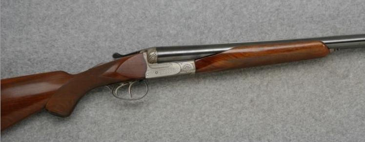 Good gun alert a 10 gauge 3 1 2 quot neumann sxs shotgun dogs and
