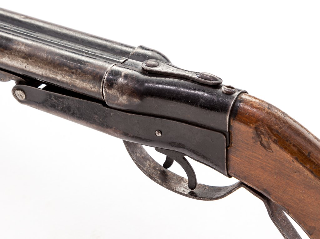 Auction alert: The Finest Toy Gun in the World - A.H. Fox's double barrel play shotgun... - Dogs ...