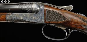 A.H. Fox CE 20 gauge double barrel shotgun