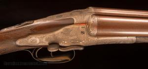 John Blanch and Son, 12 gauge sidelock ejector shotgun with sidelever