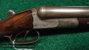 CHARLES DALY PRUSSIAN SUPERIOR GRADE SxS SHOTGUN DOUBLE BARREL SHOTGUN
