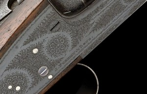 12g James Purdey & Sons shotgun, original Black Finish on action