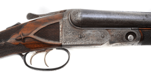 16 gauge Parker BHE double barrel shotgun, #208485
