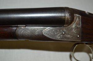 16 gauge A.H. Fox A grade double barrel shotgun