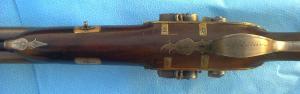 "20g Charles Jones ""Flint-Cusssion"" SxS shotgun. Image courtesy Pembroke Fine Arms"