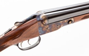 Lot 194: Winchester-Parker Reproduction DHE Grade Side-by-Side Shotgun: