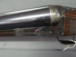 Ansley Fox 12ga w 32in steel barrel length of pull 14in SN 19419 BE Grade