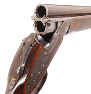 12 bore Henry Atkin over and under sidelock ejector circa 1925