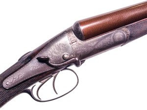 12 gauge Back-Action Boss, a typical pre-Robertson gun