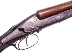 12 gauge Back-Action Boss, a typical pre-Robertson gun