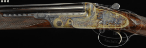 BOSS .410 OVER-UNDER, SIDELOCK EJECTOR, SINGLE TRIGGER GAME GUN WITH CASE