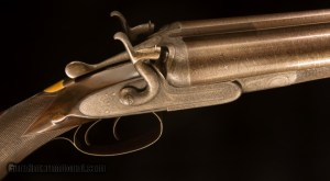 W. C. Scott Premier Hammer Double Barrel Shotgun in 10 gauge