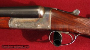"Charles Hellis & Sons Ltd. 121 & 123 Edgeware Road. Hyde Park. London W. 2"" game gun built in 1939"