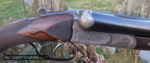 CHAS. DALY – PRUSSIAN LINDER MADE – FIELD GRADE – 12 GAUGE SXS boxlock