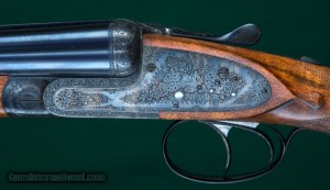 """H. Mahillon, Brussels - Matched Consecutive Pair, Sidelock Ejectors - 12 Gauge, 2 3/4"""""""