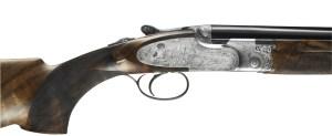 New Beretta SO10 sidelock O/U shotgun with pinless lockplates