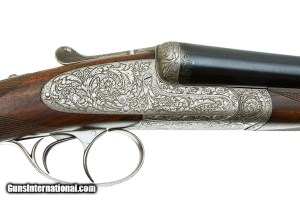 LEBEAU COURALLY GRAND LUXE SIDELOCK SXS 12 GAUGE