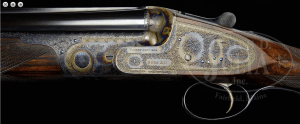 EXCEPTIONAL NEAR NEW BOSS OVER-UNDER SIDELOCK GAME GUN WITH EXTRA BARRELS AND CASE