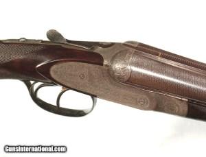 EARLY FRANCOTTE 12 GAUGE DOUBLE EJECTOR GUN