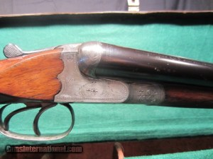 J.P. SAUER & SOHN SUHL GERMANY.  12 GA DOUBLE