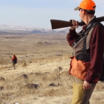 Idaho Chukar Hunting action. Dogs, guns, girls - with Ron Spomer
