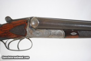 PRUSSIAN LINDER – 16 GAUGE – 28″BARRELS – EJECTORS AND WELL FIGURED WOOD