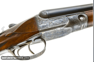 PARKER DHE 16 GAUGE Double Barrel SxS Shotgun: