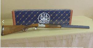 BERETTA 686 SILVER PIGEON 28 GAUGE OVER UNDER SHOTGUN IN BOX
