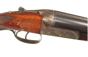 HOFFMAN ARMS CO. SIDE-BY-SIDE DOUBLE RIFLE