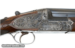 12g Westley Richards Ovundo Over-Under Shotgun.