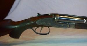 W. & C. Scott 30.06 Sidelock SxS Double Rifle