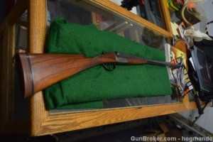 "16 gauge Miroku Side-by-Side shotgun, 28"" barrels, Mod and Cyl, 14 7/8"" LOP"
