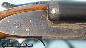 JAMES PURDEY & SONS EJECTOR SIDELOCK 12 GA. SELF-OPENING DOUBLE SHOTGUN, CIRCA 1907