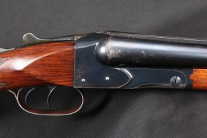 "EARLY 4-digit Winchester Model 21 Double Trigger SxS Side By Side, Blue 28"" Full / Mod Shotgun, Rick Hacker Collection, C&R 12 Gauge 2 3/4 Inch:"