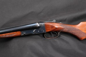 """EARLY 4-digit Winchester Model 21 Double Trigger SxS Side By Side, Blue 28"""" Full / Mod Shotgun, Rick Hacker Collection, C&R 12 Gauge 2 3/4 Inch:"""