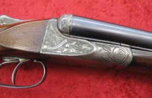 A.H. Fox A grade 16 gauge SxS Shotgun #301583
